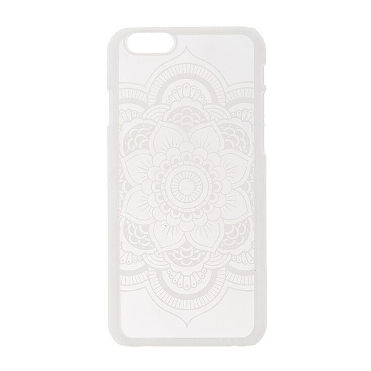 Coque pour téléphone mandala blanc - iPhone6/6S,