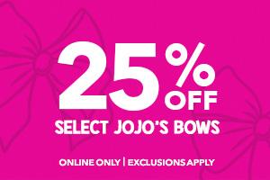 25% off select jojo siwa
