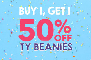 Ty Beanie Boos Buy 1 Get 1 50% OFF