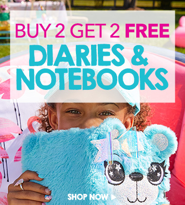 diaries & notebooks buy 2 get 2 free