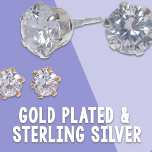 Gold Plated & Sterling Silver