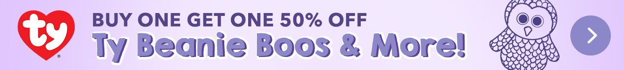 BUY ONE GET ONE 50% OFF TY BEANIES & MORE