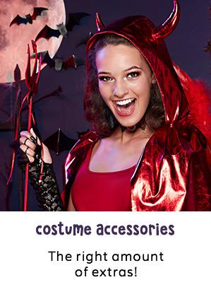 Halloween Makeup Devil And Angel.Halloween Costume Accessories Jewellery Ideas Claire S