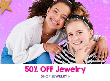 50% off Jewelry