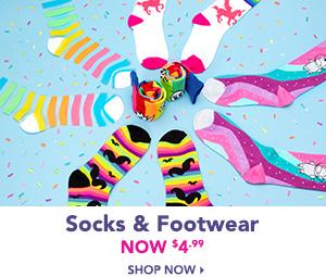 Socks and Footwear