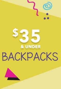 Back to school backpacks