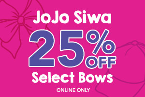 25% off jojo bows