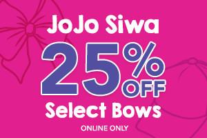 25% off JoJo