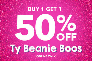 buy 1 get 1 50% off Ty Beanie Boos online only