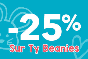 -25% sur Ty Beanies