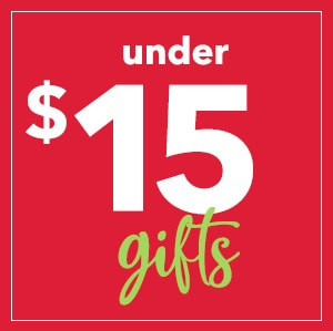 Shop $15 gifts