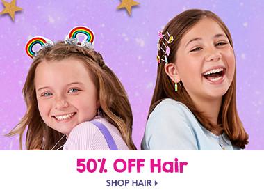 50% off Hair