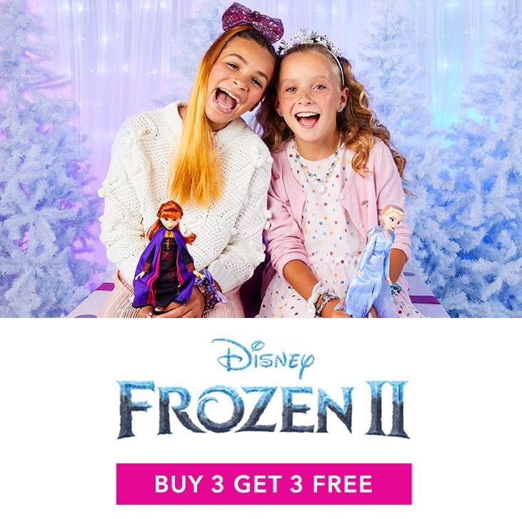 Frozen 2 Buy 3 Get 3 FREE