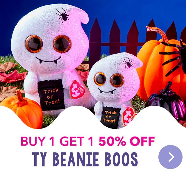 Buy 1 get 1 50% OFF Ty Beanie Boos