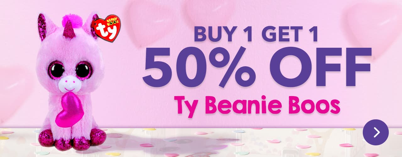 Buy One Get One 50% OFF Ty Beanie Boos