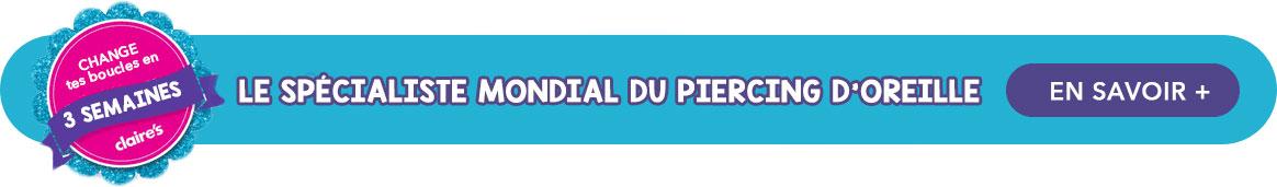Piercing d'Oreilles