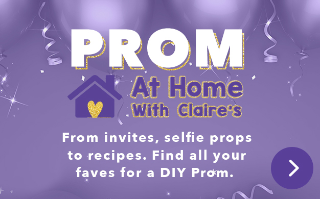 Prom At Home With Claire's