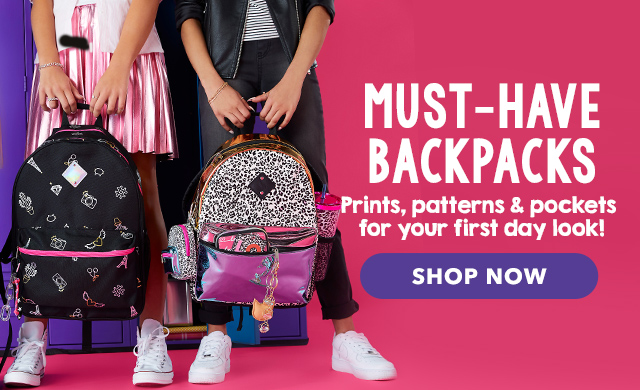b4df90d71ba Girls Bags, Wallets & Bag Charms | Claire's US
