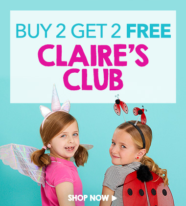 claire's club buy 2 get 2 free
