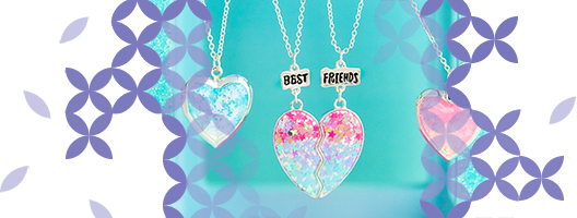... our collection of best friend gifts and accessories. Check out the cute jewellery selection for something a little more special, but we're sure you'll ...