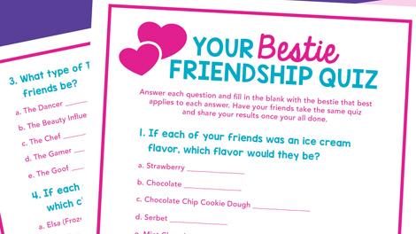Friendship Quiz