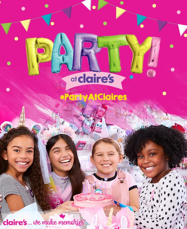 party Claire's