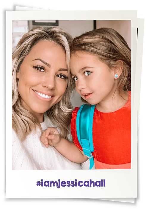 Jessica Hall & Daughter