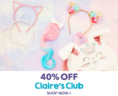 40% Off Claire's Club