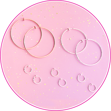 Clip On & Magnetic Earrings