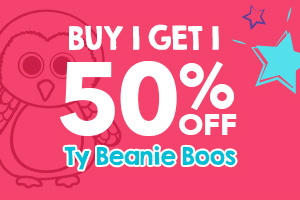 TY BEANIE BOOS BUY 1, GET 1 50% OFF
