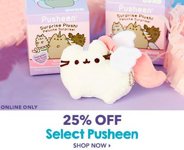 25% Off Select Pusheen