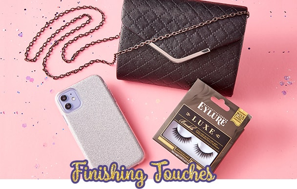 Finishing Touches (Beauty, Tech, Clutches & More)