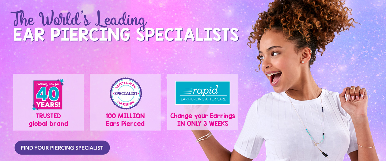 Claire S Ear Piercing Free Everyday With Purchase Of A Starter