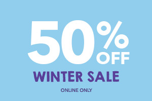 50% OFF Winter Sale