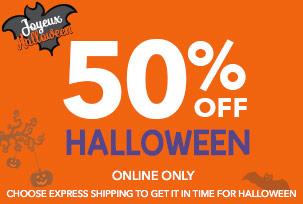 50% Off Halloween
