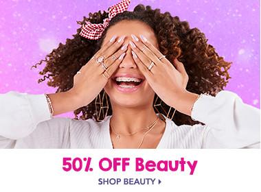 50% off Beauty
