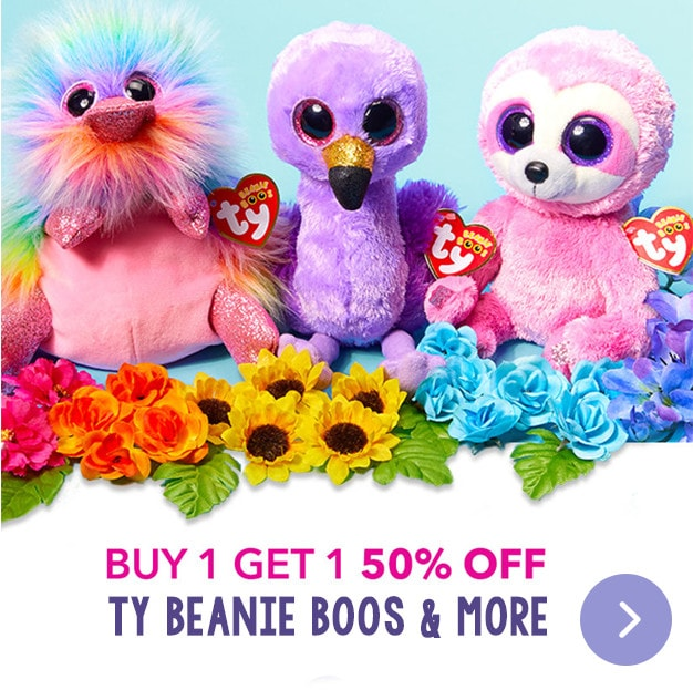 Buy 1 Get 1 50% Off - TY Beanie Boos & More