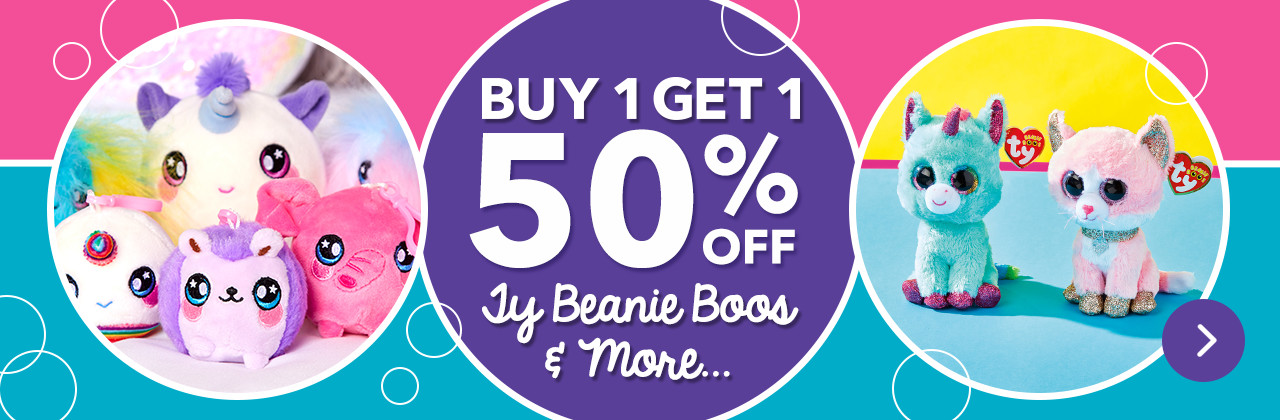 Buy One Get One 50% OFF Ty Beanies & More!
