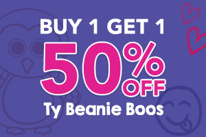 Buy1 Get1 50% Ty Beanie Boos