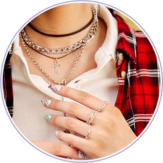 colliers chaînes