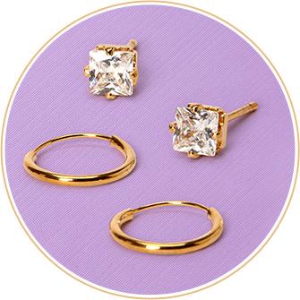 Bijoux en métaux précieux